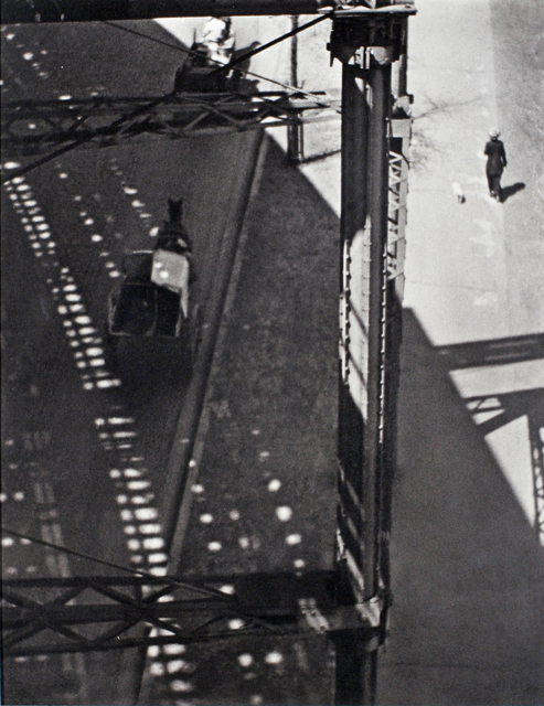 , 'Under the El, New York,' 1915, Boca Raton Museum of Art