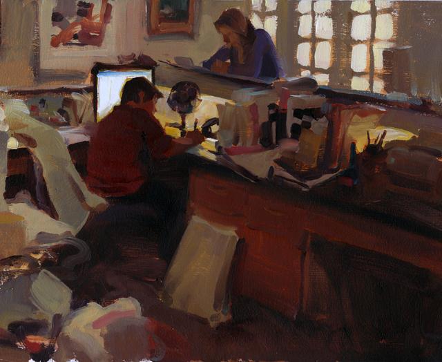 , 'Front Desk,' , Stremmel Gallery