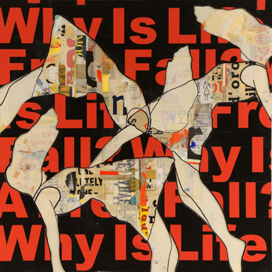 , 'Why Is Life A Freefall?,' 2014, Lanoue Gallery