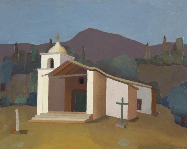 Manuel Reyna, 'Templo de Huacalera', 1982, Jerald Melberg Gallery