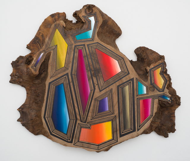 , '13 Jewels on Top of Wood and Time,' 2016, Lora Reynolds Gallery