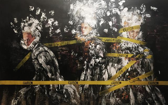, 'Three Sisters,' 2017, Lois Lambert Gallery