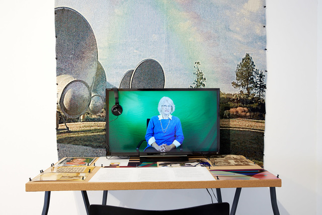 , 'Mentor Project: Margaret Race, Planetary Protector/Scott Carpenter, Mercury Mission Astronaut,' 2017-2018, EFA Project Space