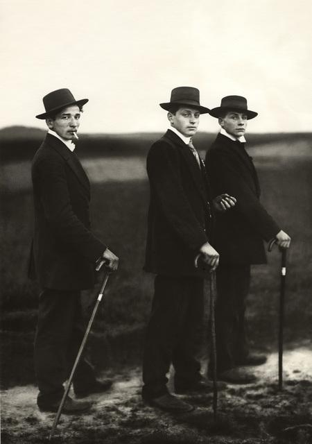 August Sander, 'Young Farmers', 1914 -(Printed 1998), Galerie Julian Sander