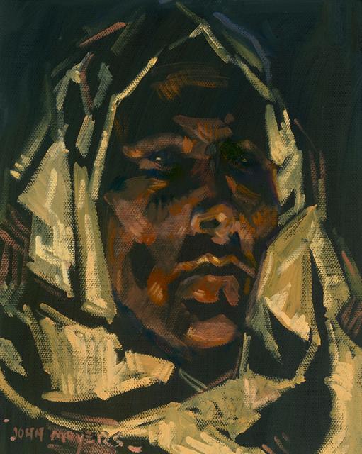 "John Moyers, '""Taos Fires""', 2019, Maxwell Alexander Gallery"