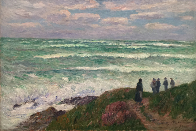 Henry Moret, 'Gros Temps', 1898, Painting, Oil on canvas, Taylor | Graham