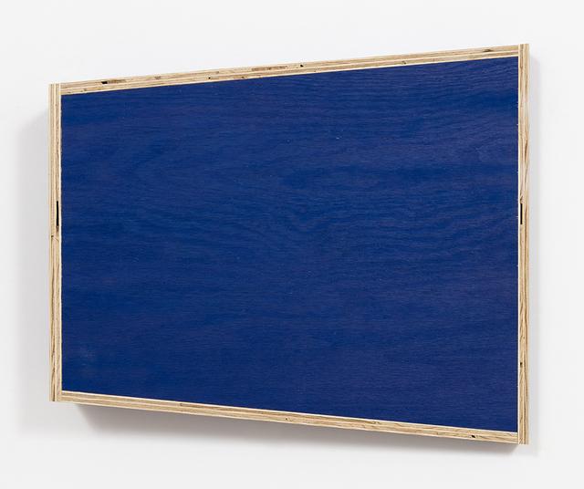 , 'Transitional Geometry in Blue (Figure 37),' 2017, Steve Turner