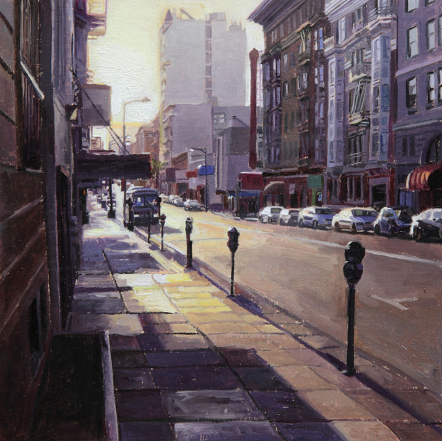 , 'Sunrise on Geary St,' 2014, Gallery 1261