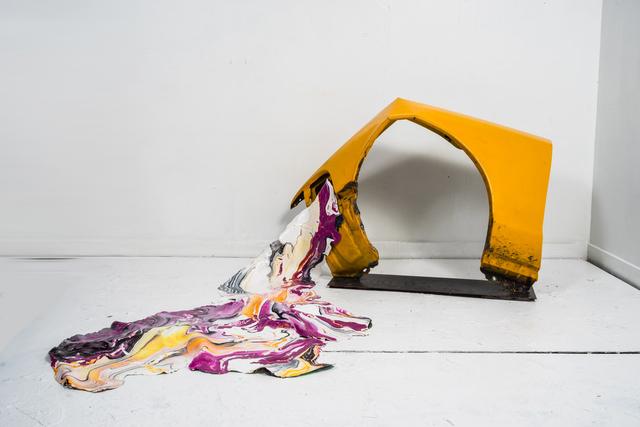 , 'Metal and Skin 5,' 2017, Jenkins Johnson Gallery