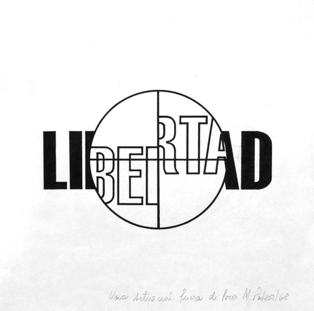 , 'Libertad. de la serie Fuera de foco,' 1968, Document Art