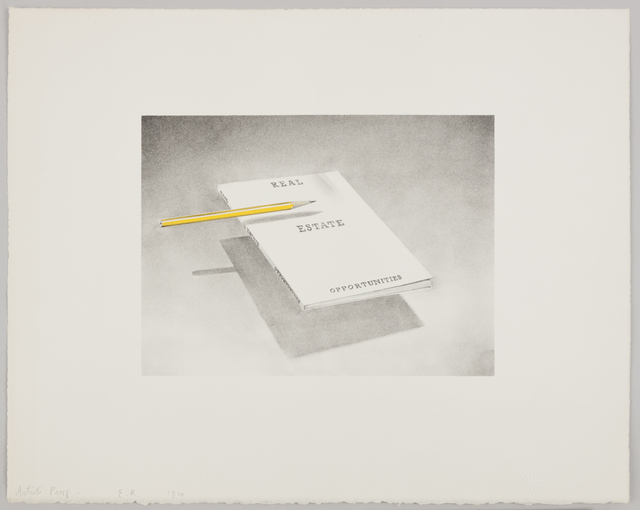 , 'Real Estate Opportunities,' 1970, Gagosian