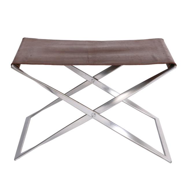 , 'PK 91 folding stool,' 1961, Dansk Møbelkunst Gallery