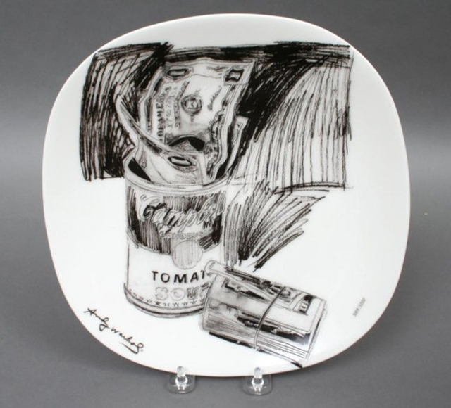 , 'Campbell's Soup Can and Dollar Bills, 1962 (Limited Edition; numbered in original box),' ca. 1995, Alpha 137 Gallery