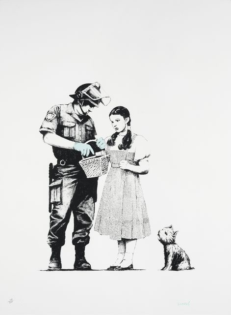 Banksy, 'Stop and Search', 2007, Fine Art Mia