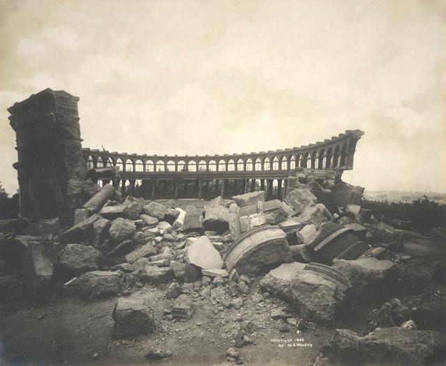 Willard Worden, 'Observatory in Ruins, Golden Gate Park, San Francisco', 1906, San Francisco Museum of Modern Art (SFMOMA)