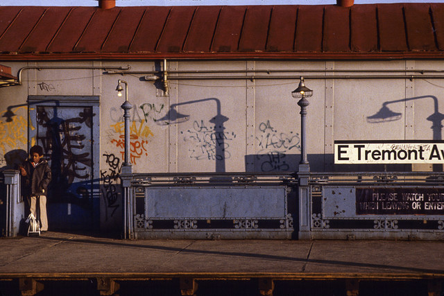 , 'West Farm Sq. – East Tremont Avenue IRT Station, Bronx,' 1979, CHRISTOPHE GUYE GALERIE