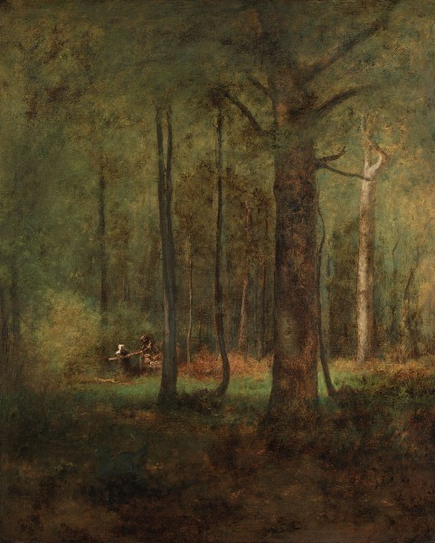 , 'Woods at Montclair,' 1885, Questroyal Fine Art