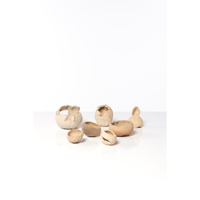 Barry Flanagan, 'Collection of squeeze, pinch and thumbs pots', 1975, PIASA
