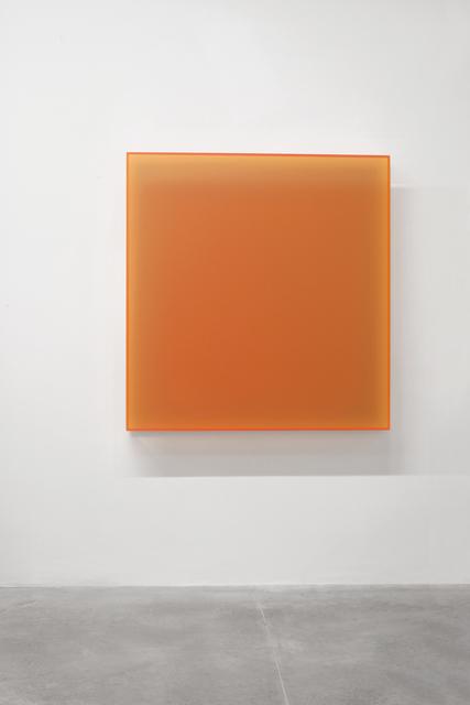 , 'Color satin Knokke deep orange,' 2017, Dep Art Gallery