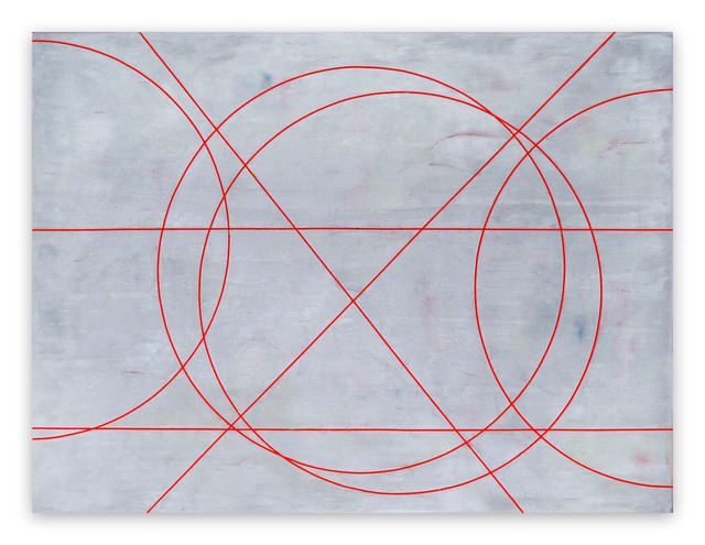 Gudrun Mertes-Frady, 'Graphite Over Red', 2015, IdeelArt
