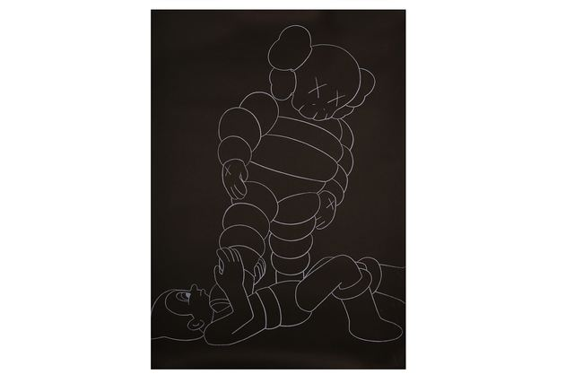 KAWS, 'Chum vs Astro Boy', 2002, Print, Silk Screen Poster, Chiswick Auctions