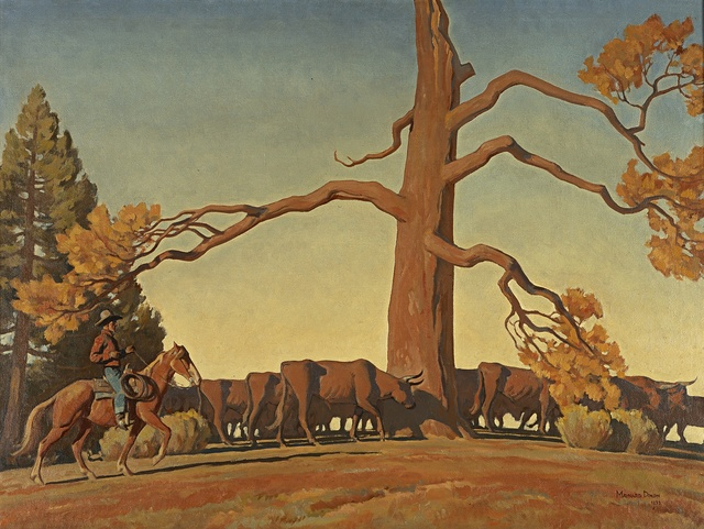 , 'Top of the Ridge,' 1933, Blanton Museum of Art