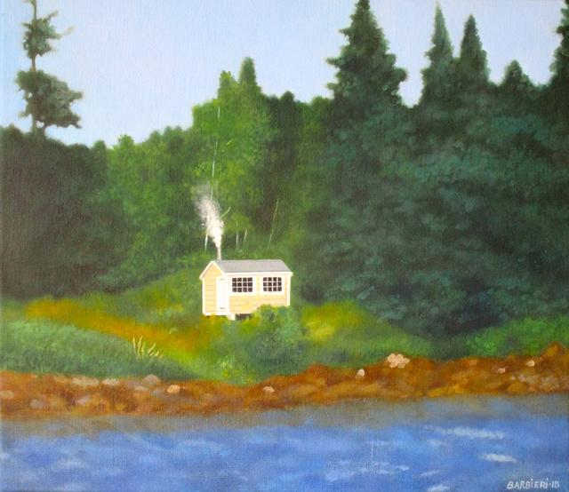 , 'Island Sauna, Maine,' 2018, Gallery NAGA