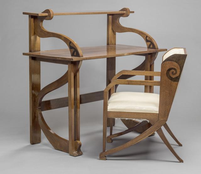 , 'Bureau et fauteuil (Desk and chair),' 1898, Musée d'Orsay