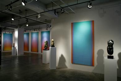Color & Form: The work of Leon Berkowitz & Anita Huffington