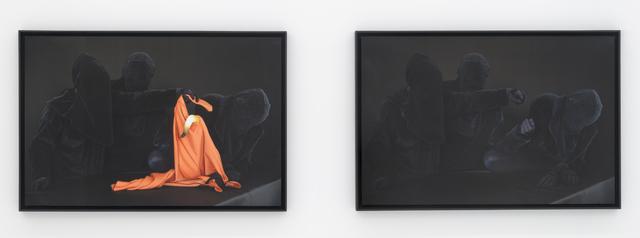 , 'Ne regarde pas,' 2013, PARISIAN LAUNDRY