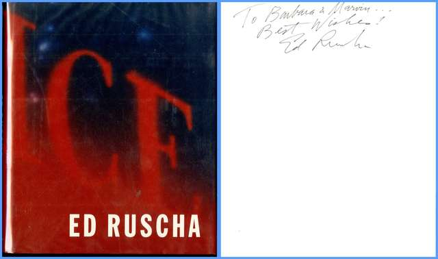 , 'Ed Ruscha (Hand Signed and inscribed to former owner of 20th Century Fox) ,' 2000, Alpha 137 Gallery