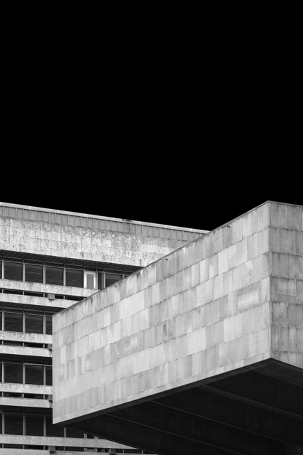 , 'Concrete Evidence 1 (Library and Lecture Theatre 1967-70, Edinburgh University),' 2018, Joanna Bryant & Julian Page