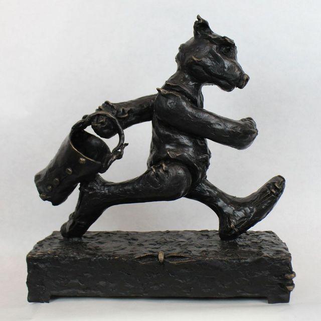 , 'Bucket Bear ,' , Gormleys Fine Art