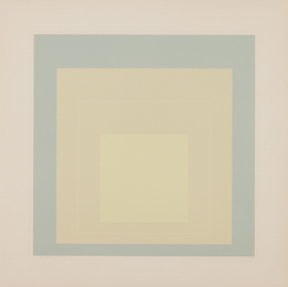 Josef Albers, 'White Line Squares: White Line Square VII,' 1966, Phillips: Evening and Day Editions (October 2016)