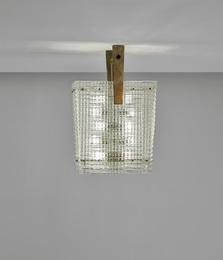 Bugnato ceiling light, model no. 5300