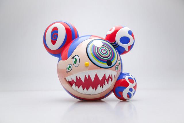 Takashi Murakami, 'Mr. Dob (Blue)', 2016, Sculpture, Painted cast vinyl, Tang Feng Gallery