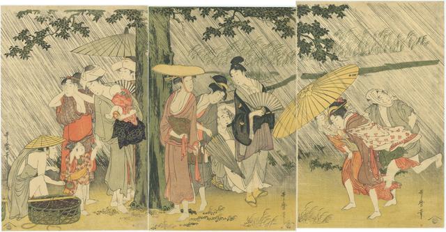 , 'Sheltering from the Rain,' ca. 1799, Sebastian Izzard LLC Asian Art