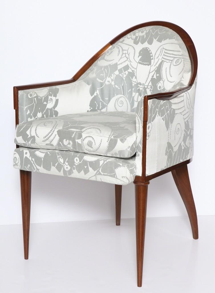 JacquesEmile Ruhlmann Fauteuil Guinde Early Art Deco Armchair - Fauteuil deco