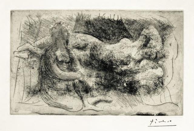 , 'Femme Assise et Femme Etendue,' 1932, F.L. Braswell Fine Art