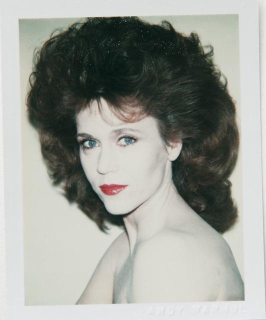Andy Warhol, 'Andy Warhol, Polaroid Portrait of Jane Fonda', 1982, Hedges Projects