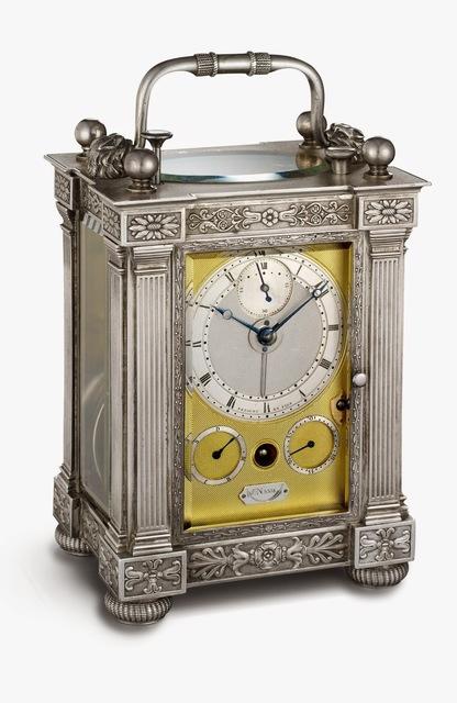 , 'Half-quarter repeating travel clock with alarm,' 1826, Legion of Honor