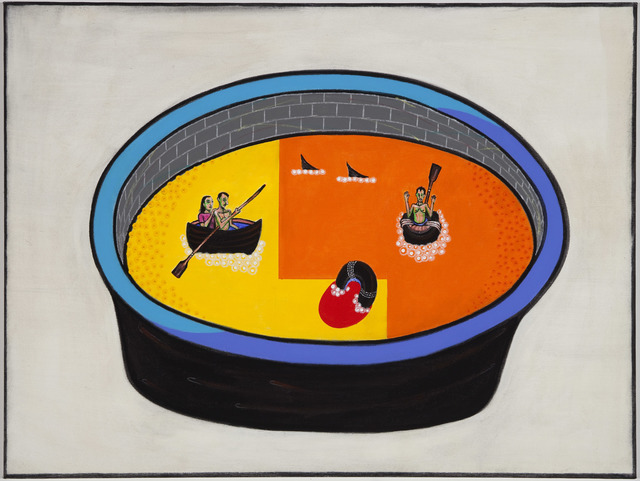 , 'Tub-Hell Act II,' 2010, Lyle O. Reitzel