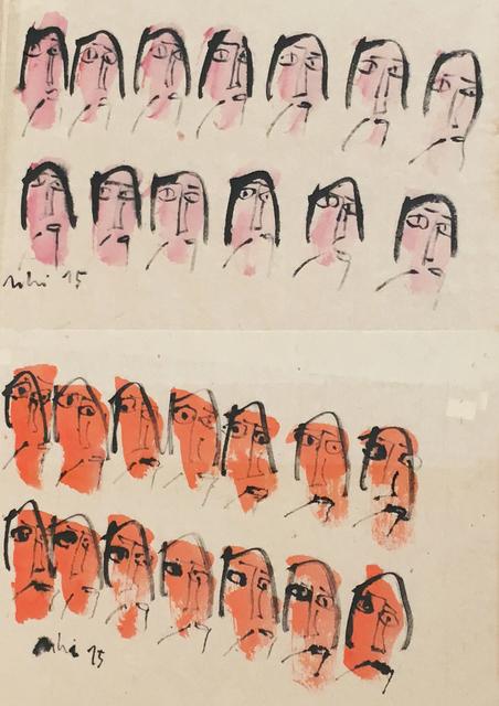 , 'My Little Happiness 17_Pink Orange,' 2015, Art Vietnam Gallery