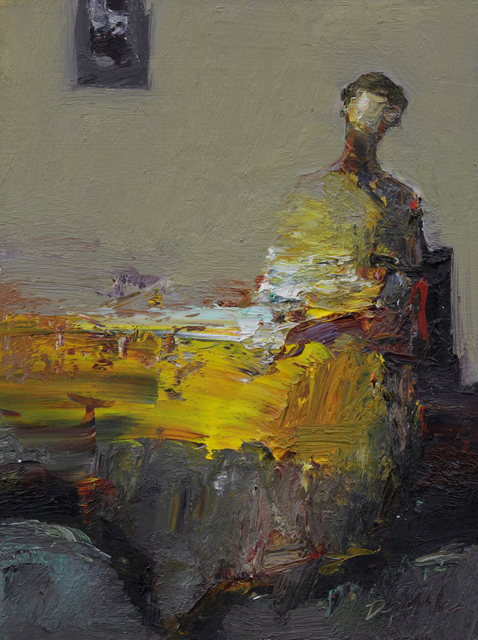 , 'Seated Figure,' 2015, Sue Greenwood Fine Art