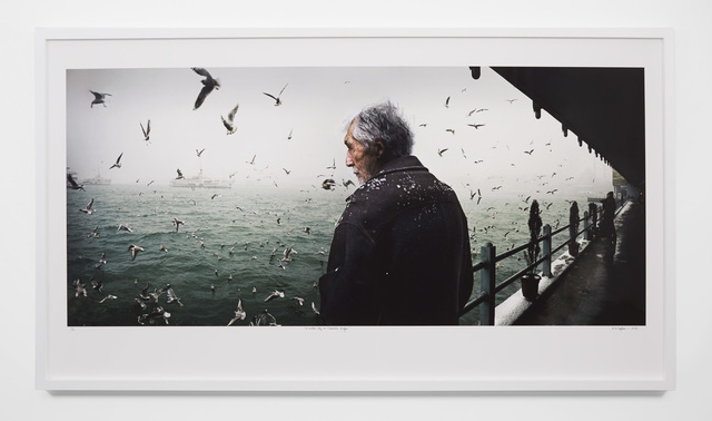 , 'A winter day on the Galata Bridge,' 2007, Tina Kim Gallery