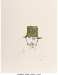Rudolphe Bresdin, from Laus Pictorum: Portraits of Nineteenth Century Artists