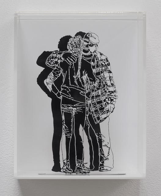 , 'Shy Hug,' 2017, Shoshana Wayne Gallery