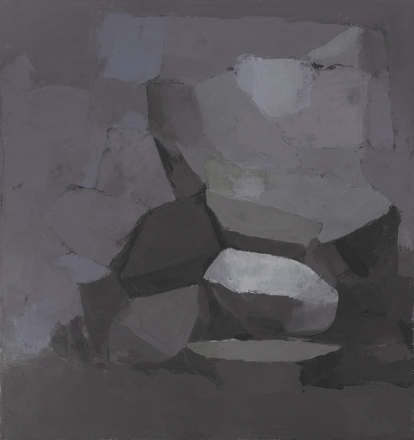 , 'Untitled (grey painting),' 2012, Bridge Productions