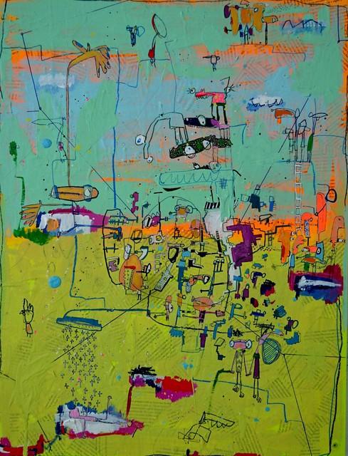 , 'MACROCOSMOS 4,' 2016, Aurora Vigil-Escalera Art Gallery