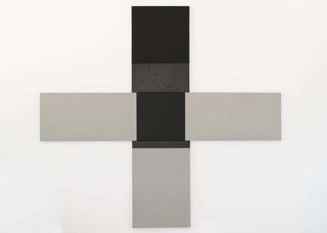 Blake Baxter, 'Black Painting,  no. 38', 2017, Asher Grey Gallery